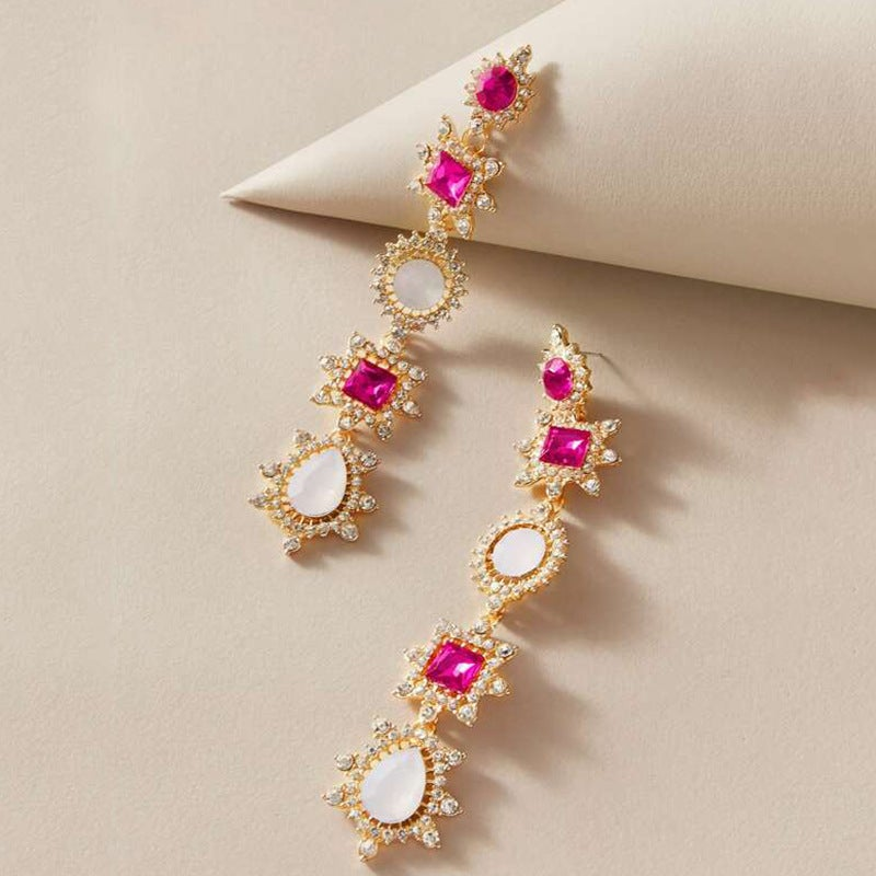 Image of Pink&White Baroque Long