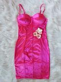 Daisy Dress (fuchsia)