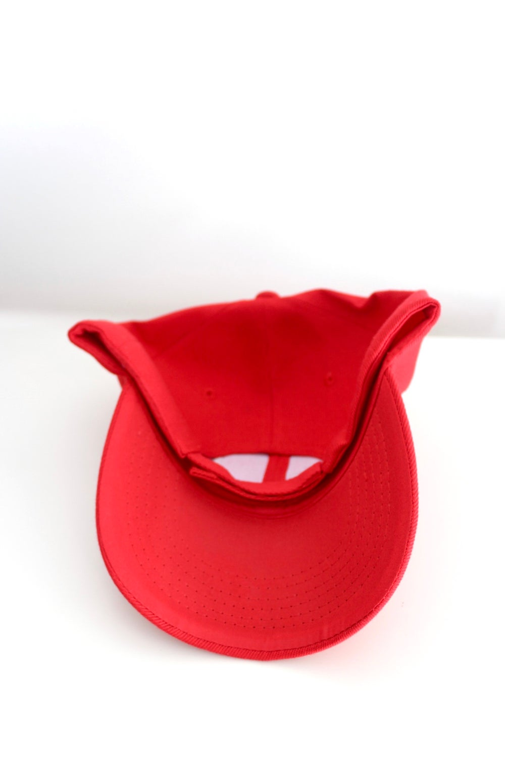 we don't make deals with demons baseball cap in red