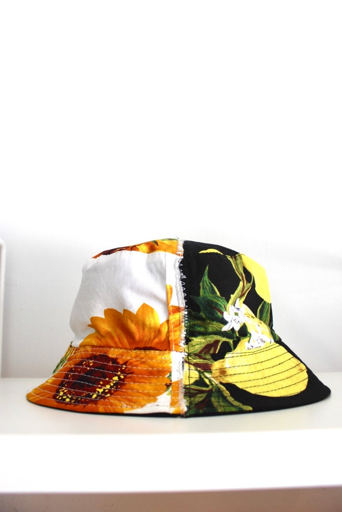 Image of take both bucket hat