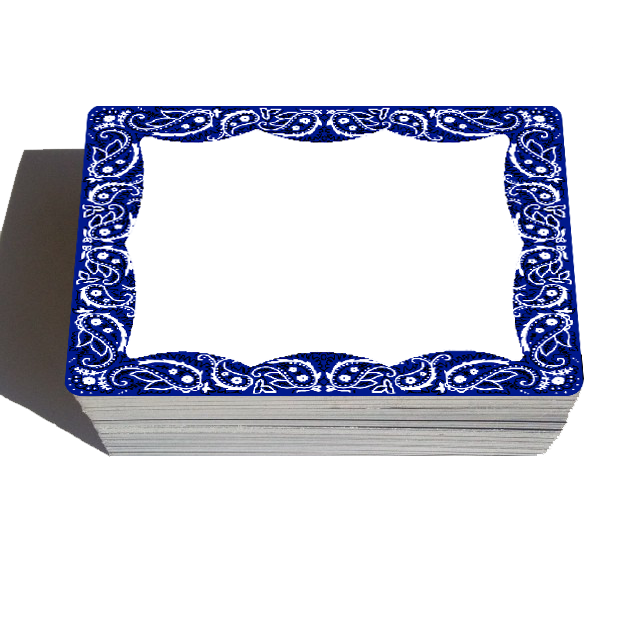 Image of Bandanda Blanks - Blue