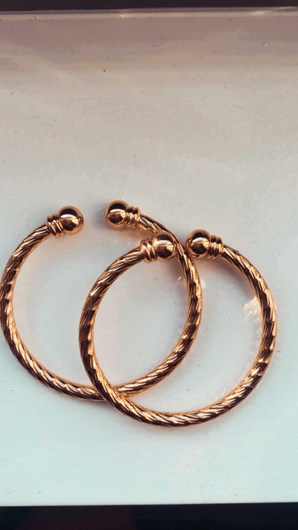 Little dorado bangles (little girls)