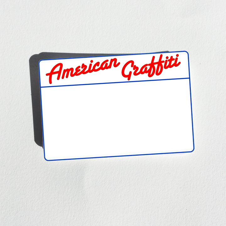 Image of American Graffiti Blanks