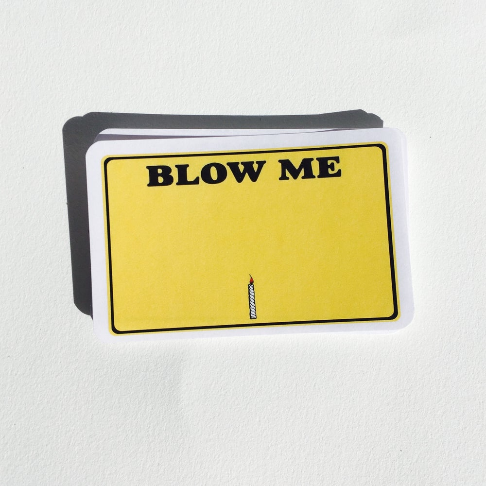 Image of Blow Me Blanks