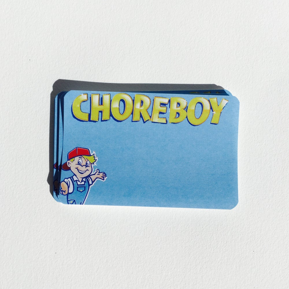 Image of Chore Boy Blanks