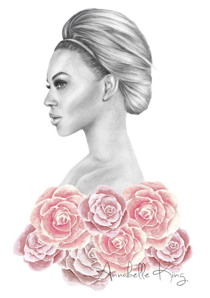 Image of Beyonce - Limited Edition giclee Print A4