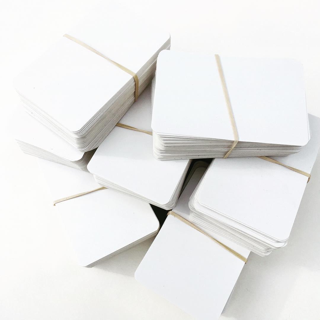 Image of Blank Blanks