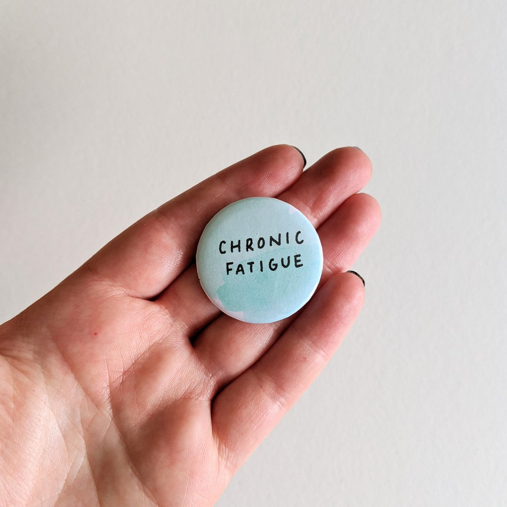 Image of Chronic Fatigue Button