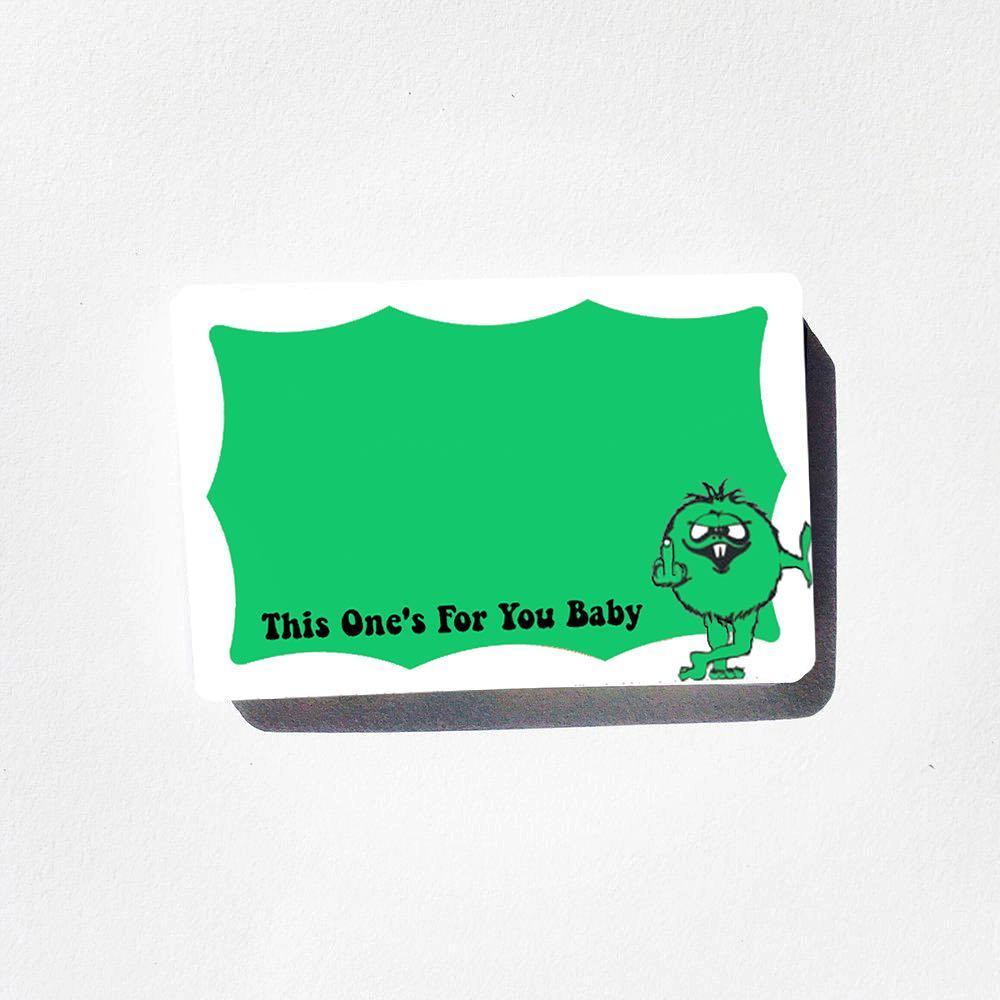 Image of Green Monster Blanks