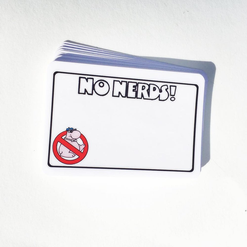 Image of No Nerds Blanks