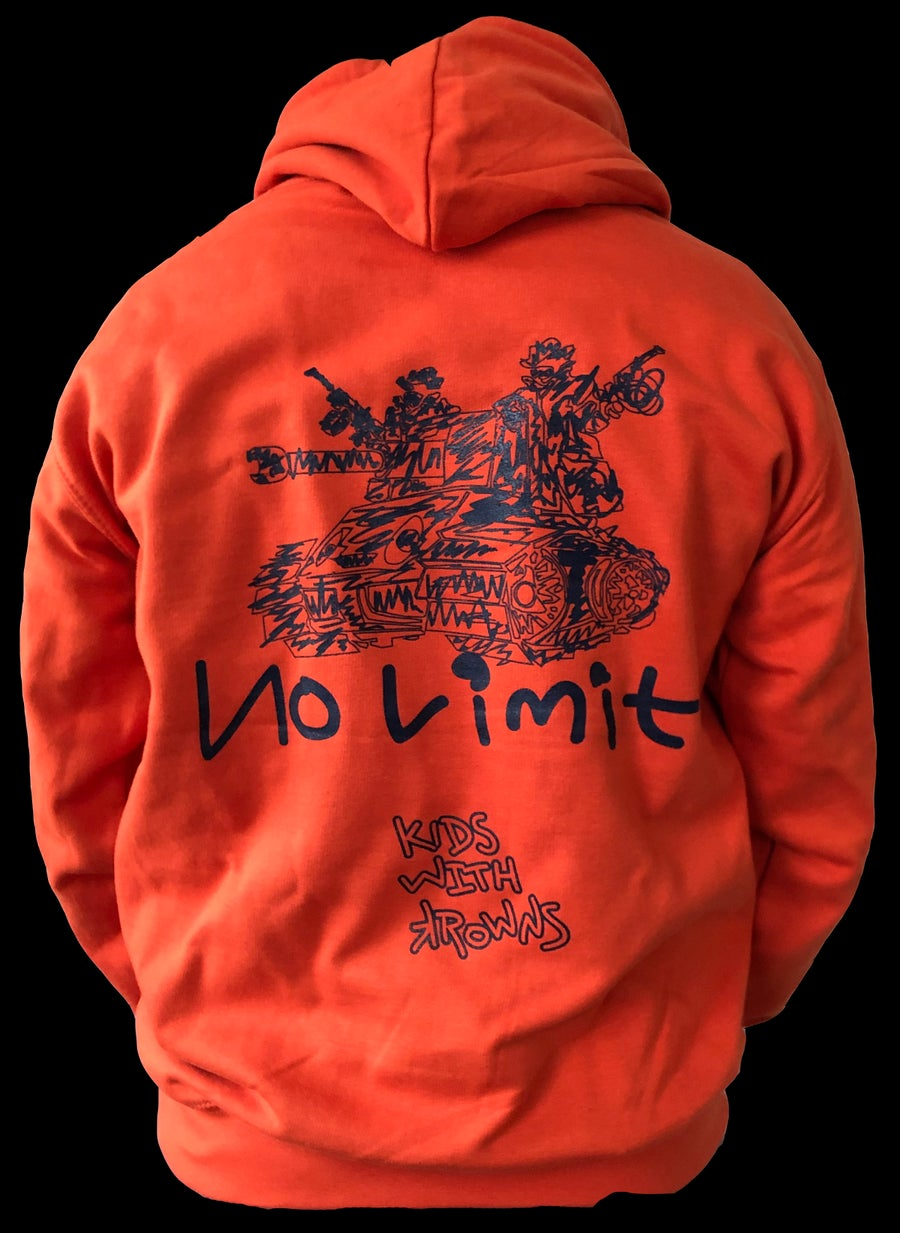 Image of No Limit Concept Hoodie