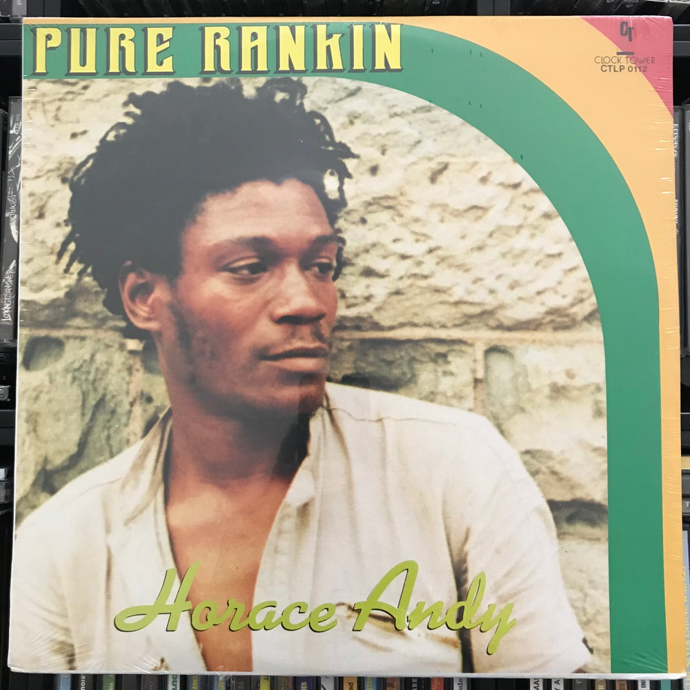 Image of Horace Andy - Pure Ranking Vinyl LP