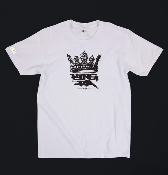 Image of King RA x Cream Scheme Tee (black print)