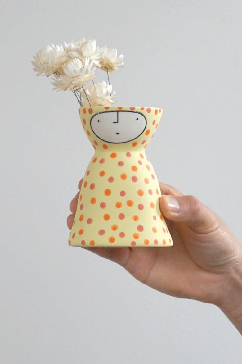 Image of Little Lemon Onesie Vase – stoneware ceramic