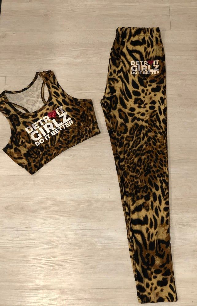 Image of The leopard active set