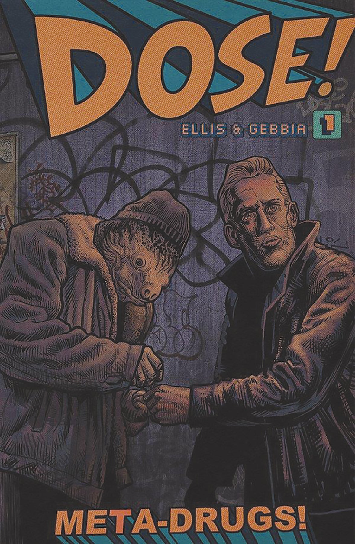 Image of DOSE! #1 (Cover A)