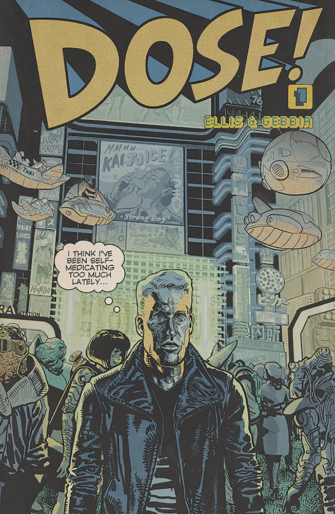 Image of DOSE #1 (Cover B)
