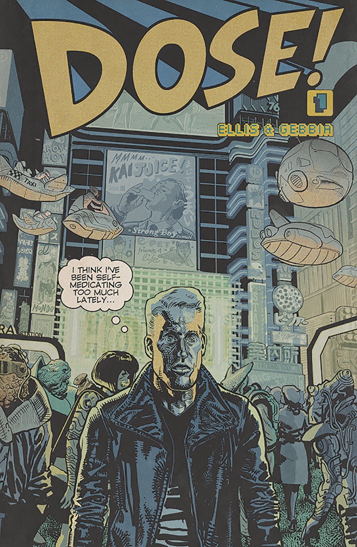Image of DOSE #1 (Gebbia variant cover)