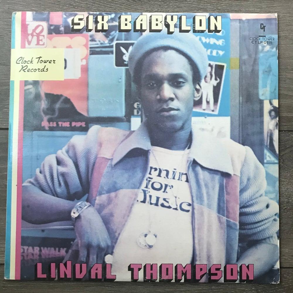 Image of Linval Thompson - Six Babylon Vinyl LP