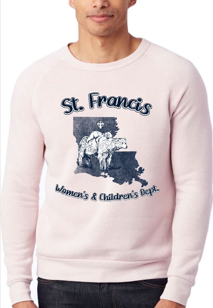 Image of St Francis Women's & Children's Pre Order- Rose Sweatshirt