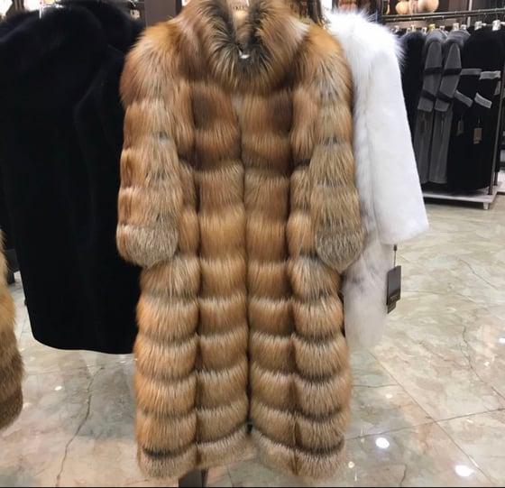 Image of Savannah Fox Fur Coat