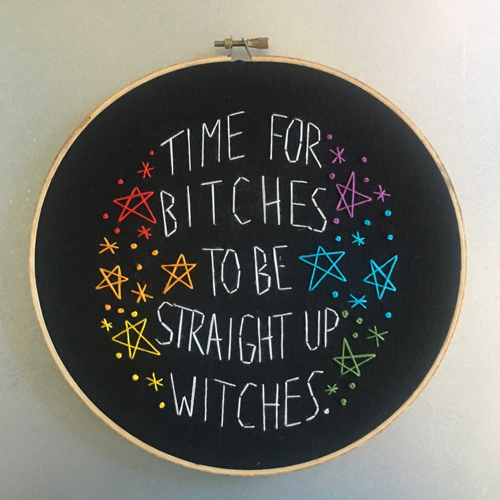 Image of Straight up witches