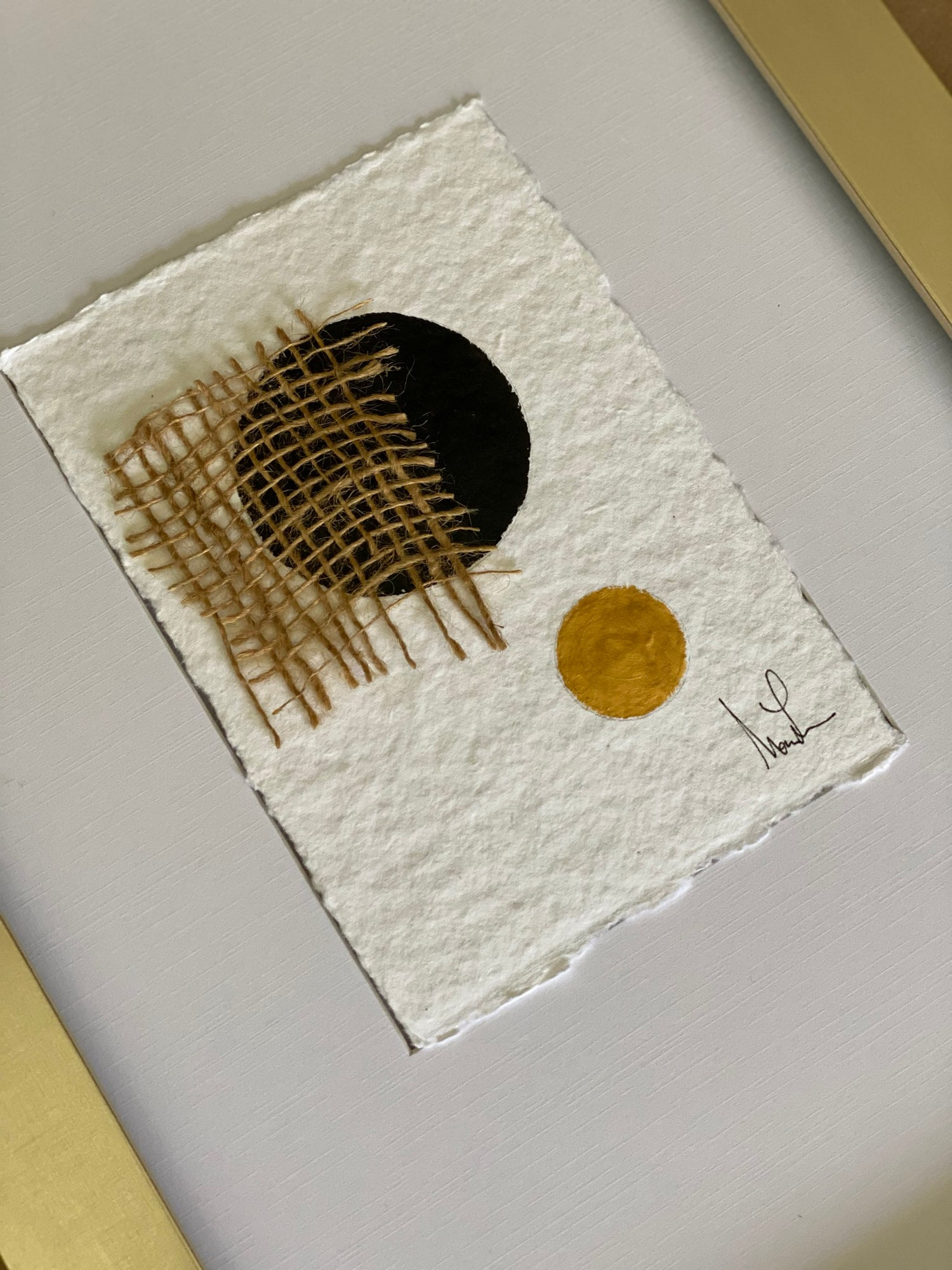 Image of ML Cotton Rag Paper and Jute (3)