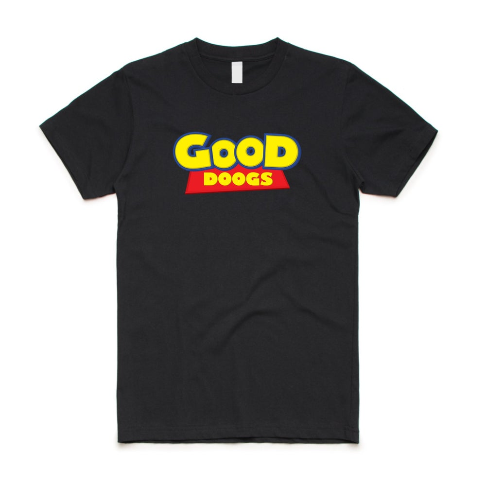 Image of Doogs Story Tee - Black