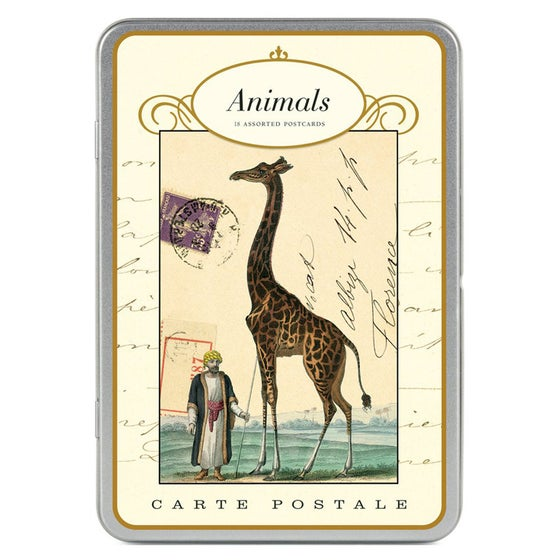 Image of Carte Postale ~ Animals