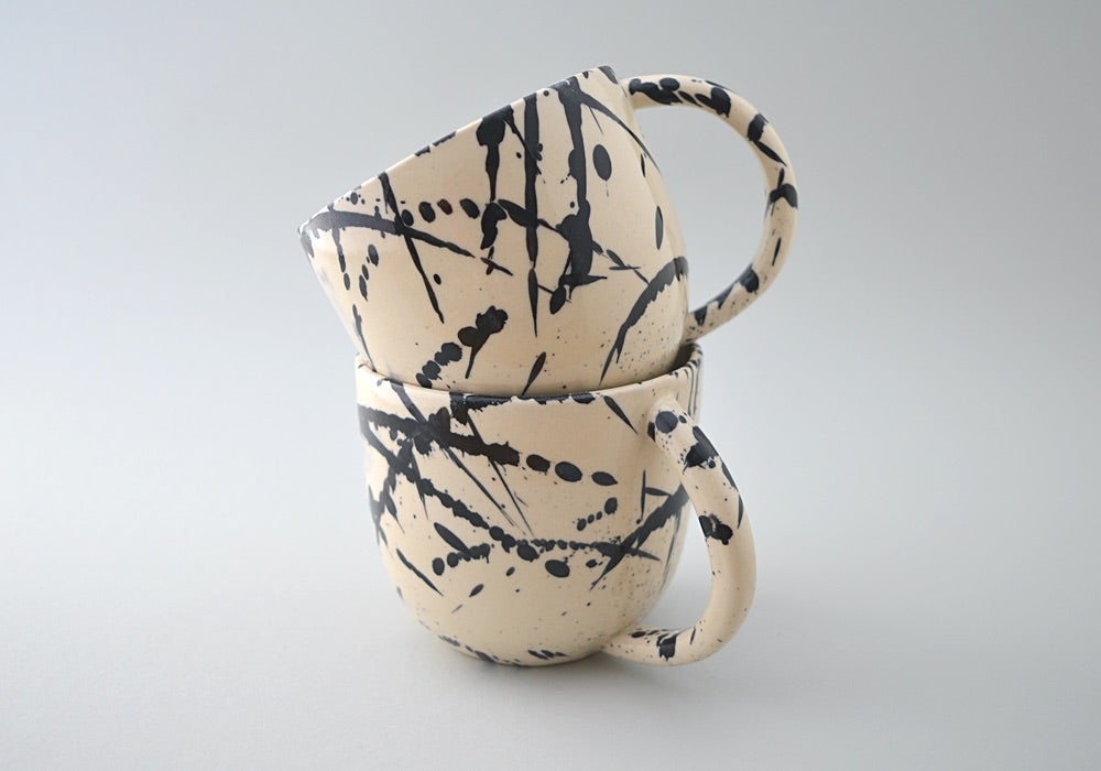 Image of Indigo Splatter Mug