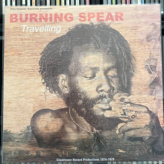 Image of Burning Spear - Travelling Vinyl LP