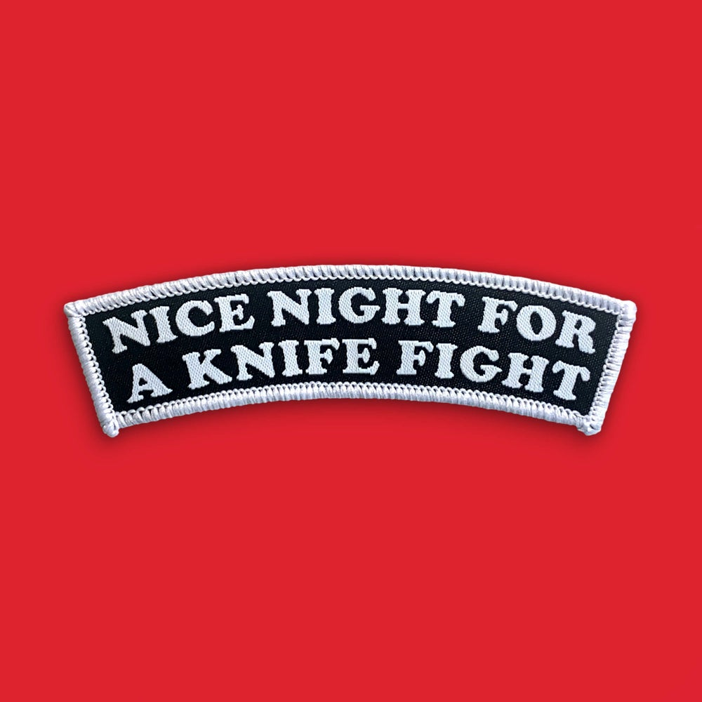 Image of 'Nice Night' Patch (Small)