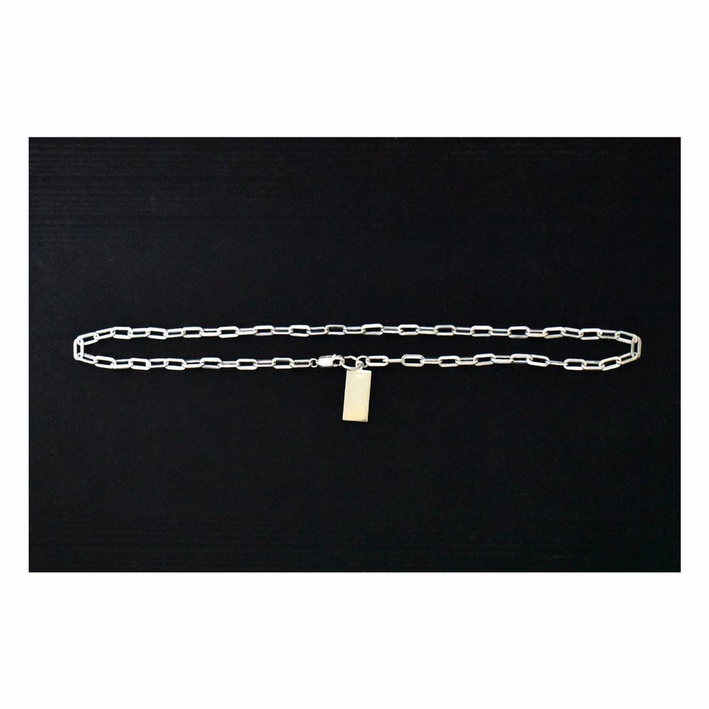 Image of 'the Connections' silver necklace