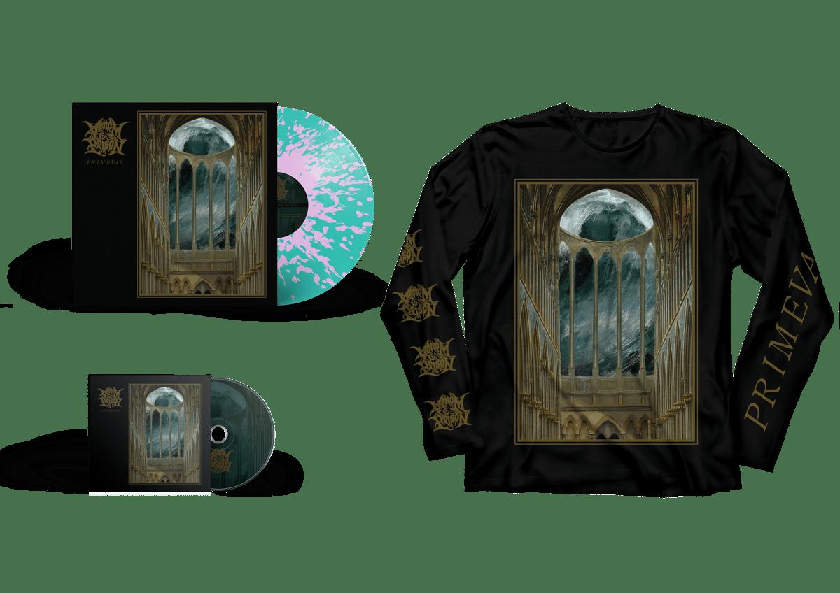 Image of Primeval Bundle (PRE-ORDER) CD + LP + LONG SLEEVE