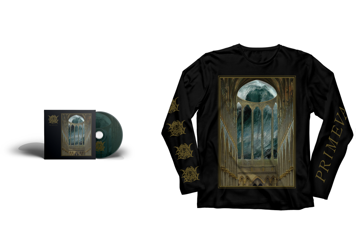 Image of Primeval Bundle (PRE-ORDER) CD + LONG SLEEVE