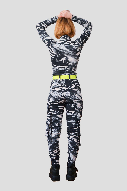 Image of Zebra Cargo Pants