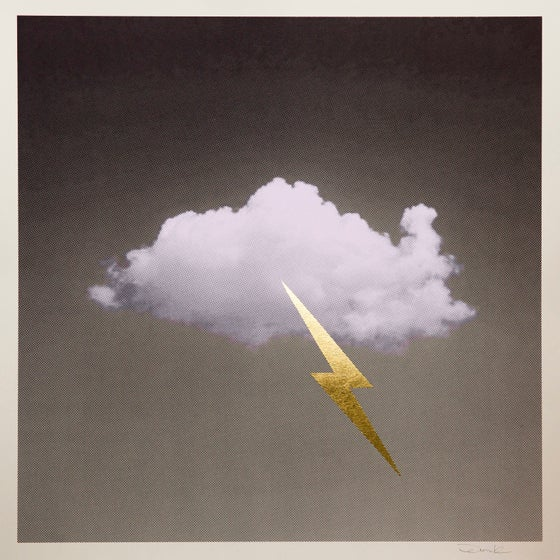 Image of 'Little Fucking Cloud' (Lilac/Gold)
