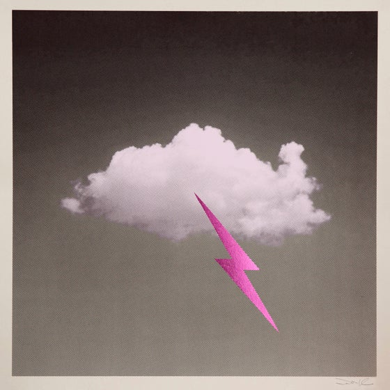 Image of 'Little Fucking Cloud' (Pink/Metallic Pink)