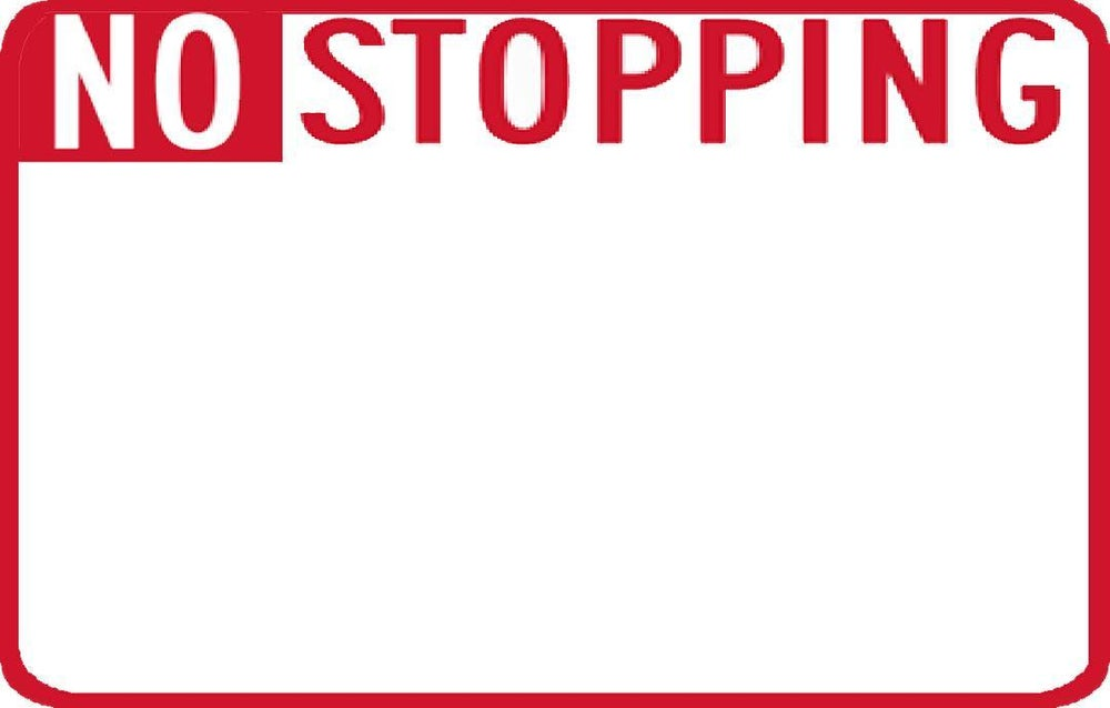 Image of No Stopping Blanks