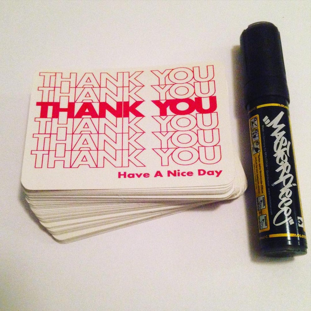 Image of Thank You Blanks