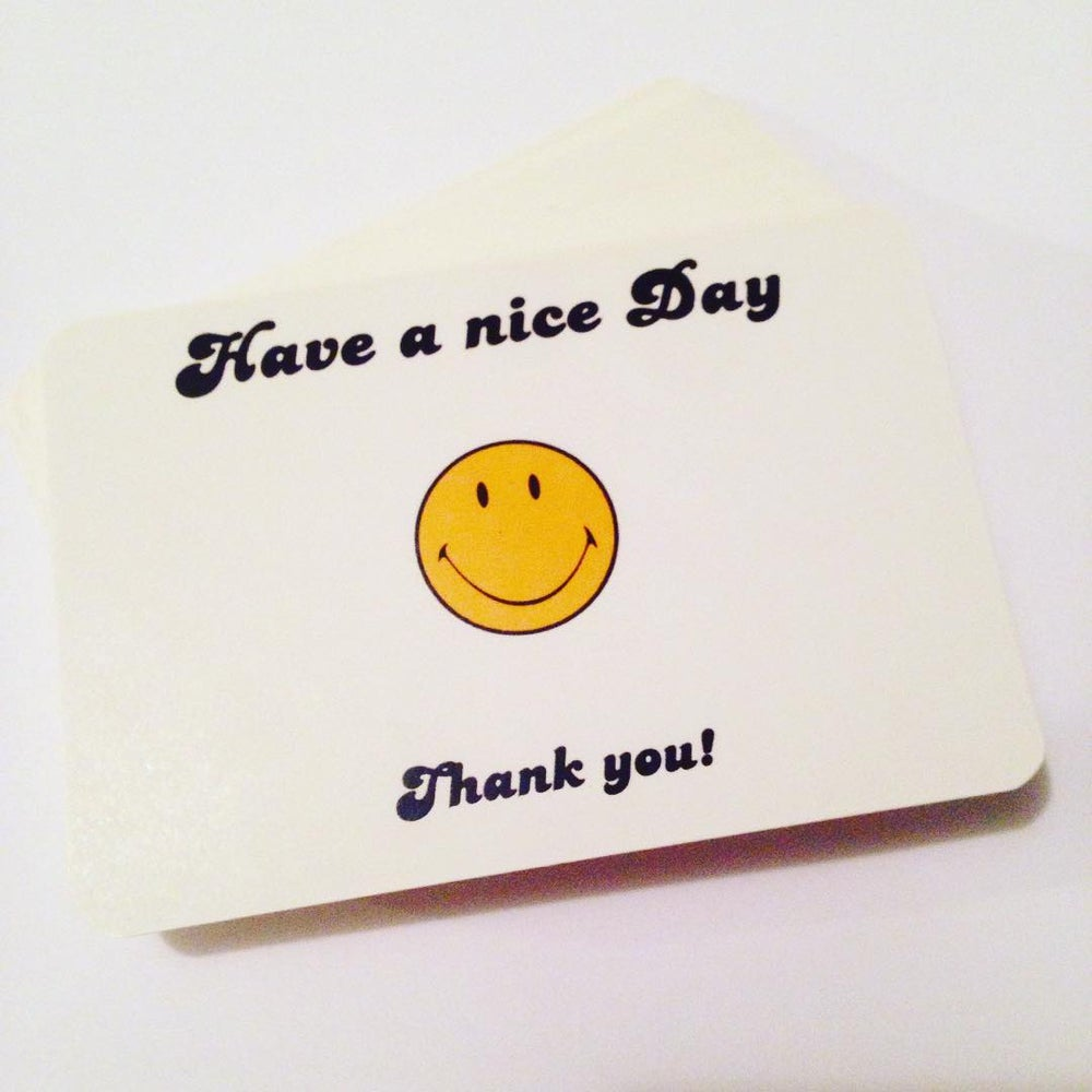Image of Have a Nice Day Blanks