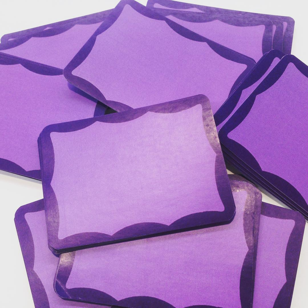 Image of Purple Blanks