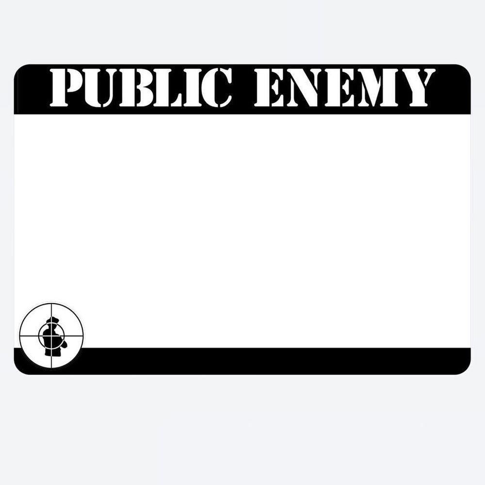 Image of Public Enemy Blanks