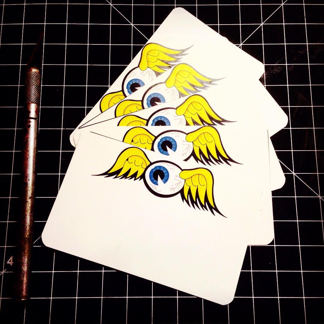 Image of Flying Eyeball Blanks