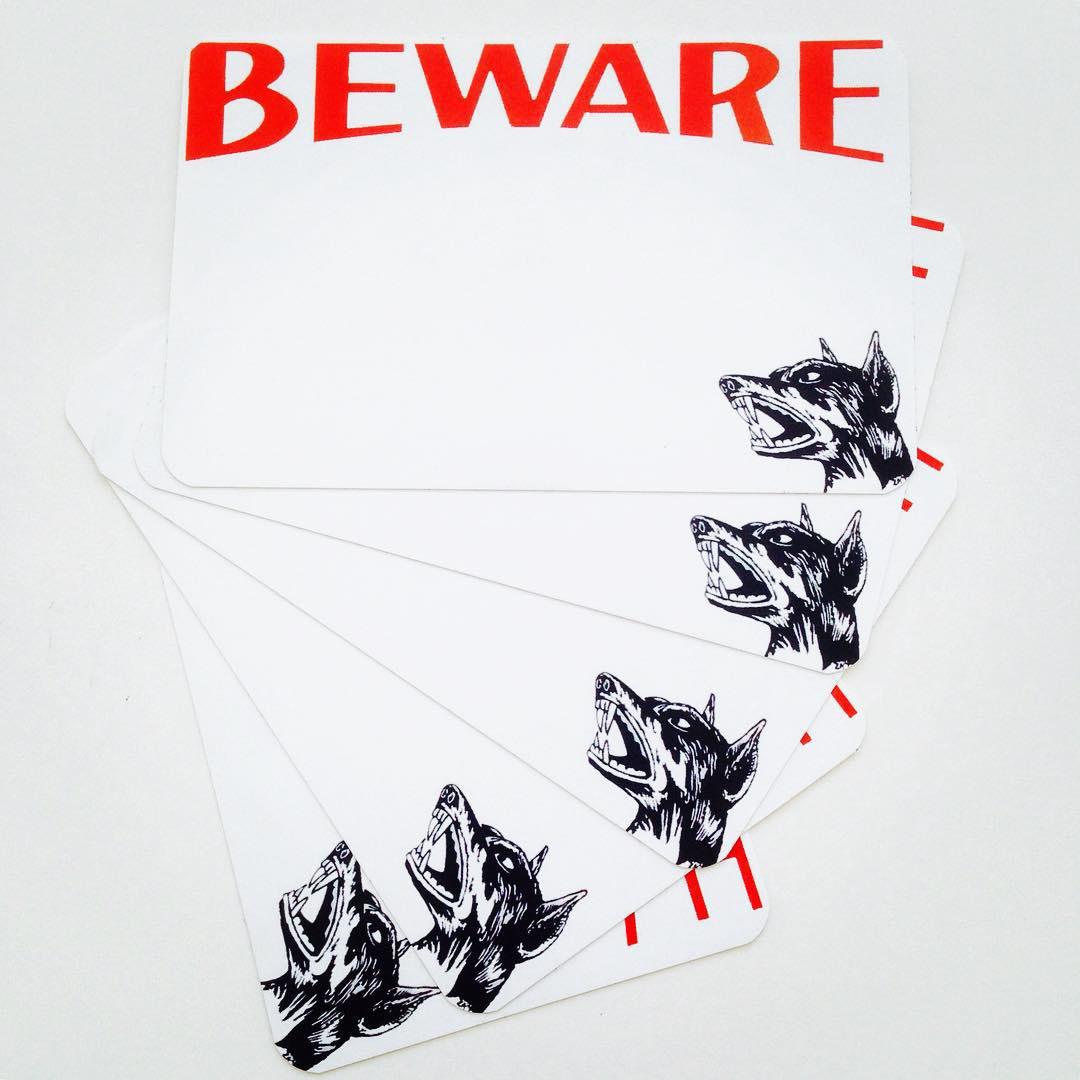 Image of Beware Blanks