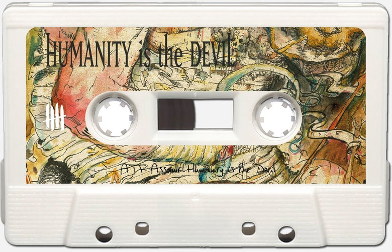 """Image of INTEGRITY """"Humanity is the Devil"""" ltd 50 WHITE"""
