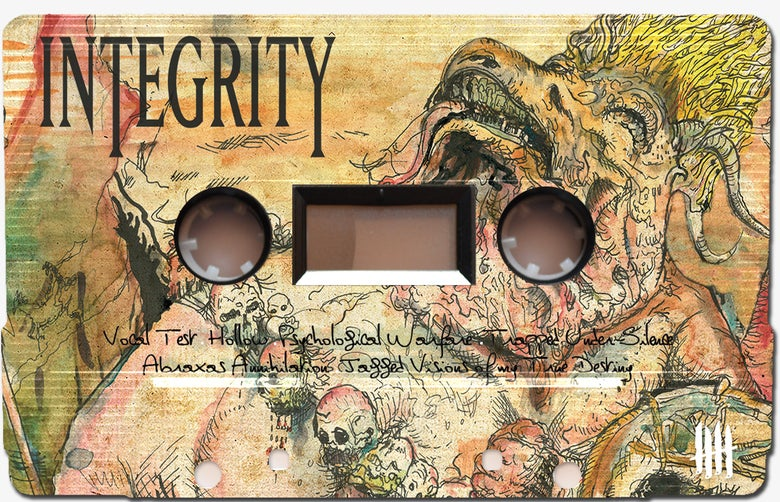 """Image of INTEGRITY """"Humanity is the Devil"""", etched Picture Cassette Tape"""