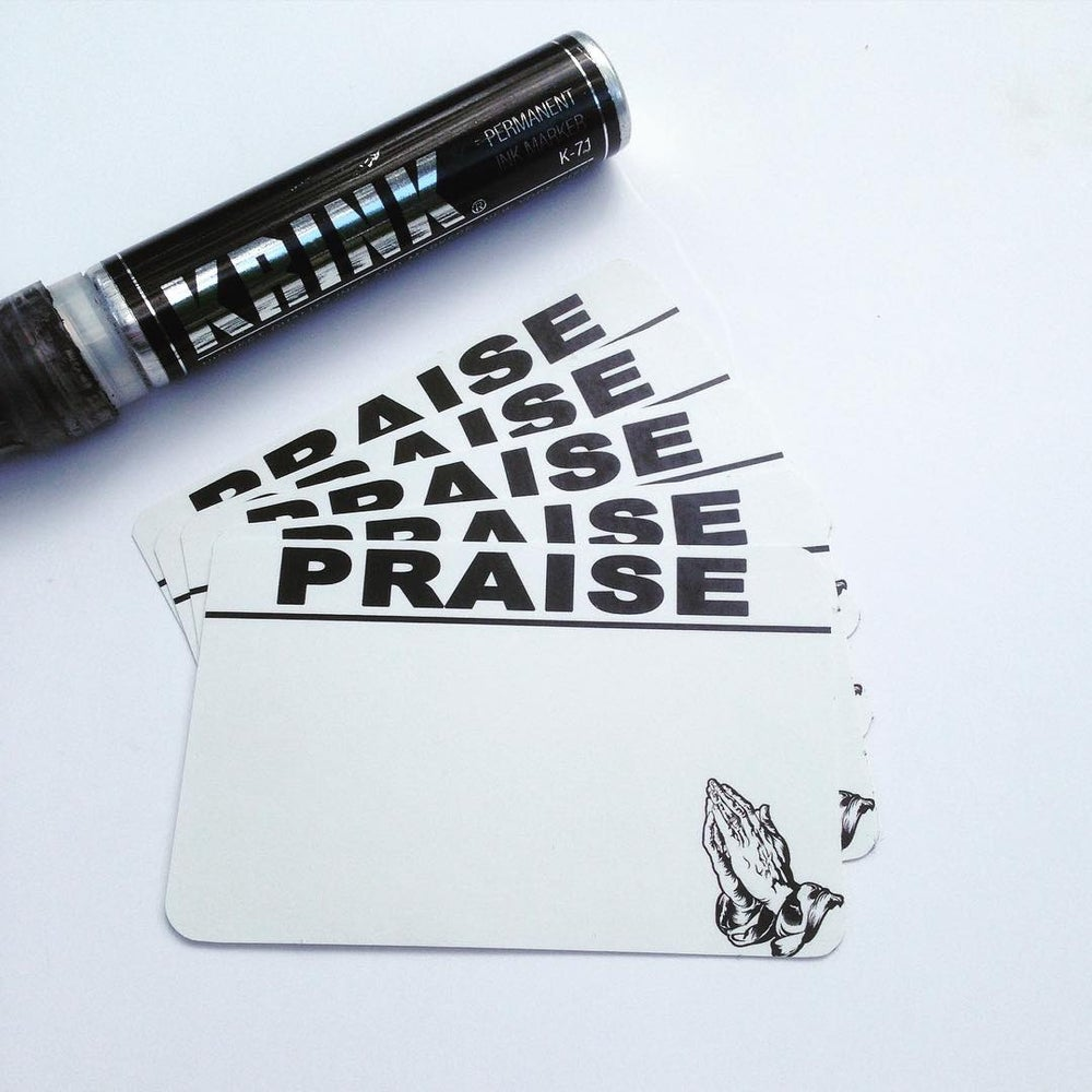 Image of Praise Blanks