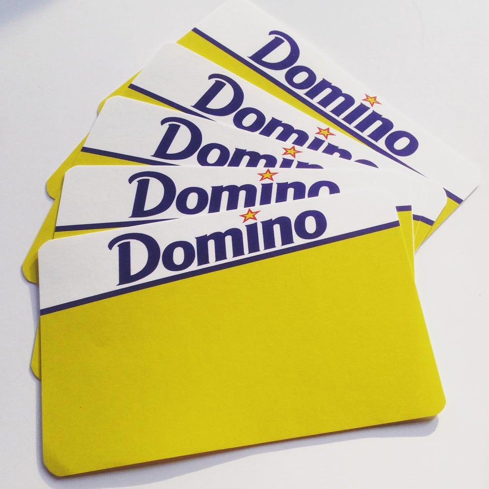 Image of Domino Blanks