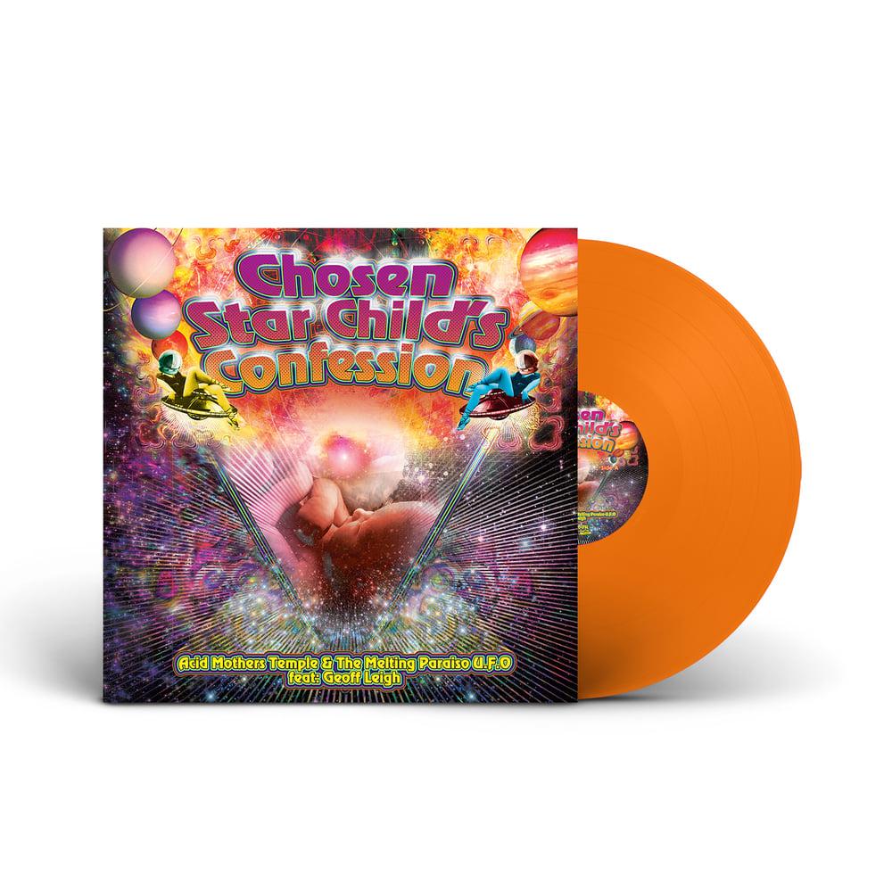 ACID MOTHERS TEMPLE 'Chosen Star Child's Confession' Orange Vinyl LP